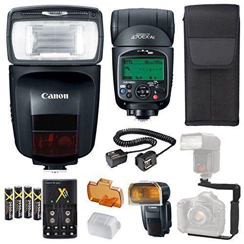 Canon Speedlite 470EX-AI Flash KIT