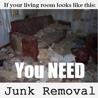 Great deal on junk removal, give us a call @ 1 877 937 5255.