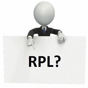 RPL (Recognized Prior Learning) Haymarket Inner Sydney Preview