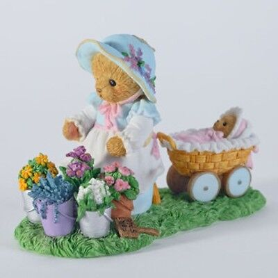 Cherished Teddies~PRICELESS IS A FRIENDSHIP IN BLOOM~FREE SHIP