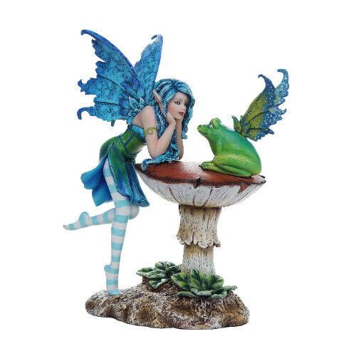 FROG GOSSIP FAIRY Figurine Faery Figure Amy Brown faerie statue