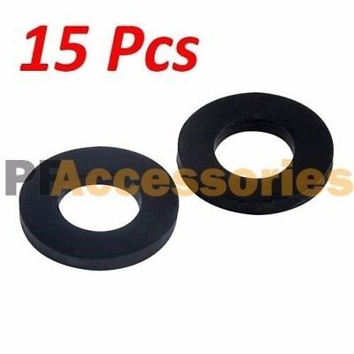15 Pcs 1 Inch Od O-ring Hose Gasket Flat Rubber Washer Lot For Faucet Grommet