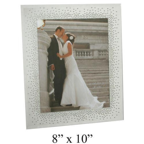 Mirrored Glass Picture Frame | eBay