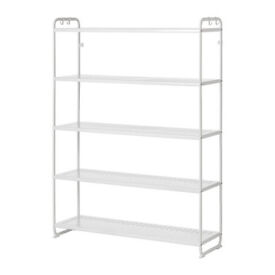 Multi-shelving unit MULIG-IKEA -good for pantry, garage or even to put books or clothes!