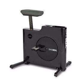 Bike Box Compact Exercise Machine Hands Free BLACK
