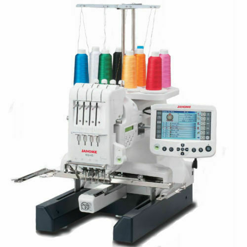 Janome MB-4S Four Needle Embroidery Machine Includes Free Bonus
