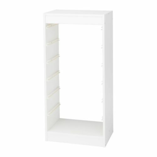 TROFAST IKEA Frame*** white storage unit LIKE NEW £8 | in ...