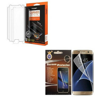 Sparse Anti Shock Clear Full Screen Protector For Samsung Galaxy S7 Edge