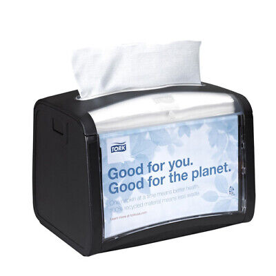 Sca Tissue Xpressnap Tabletop Napkin Dispenser 7.9w X 5.9d X 6.1h Black 6232000