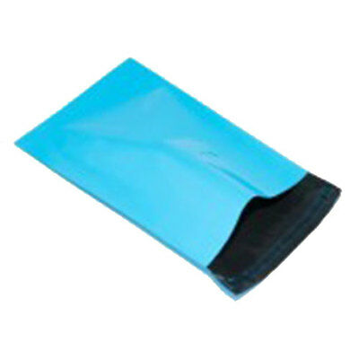 5 Plastic Postage Bags Turquoise 17