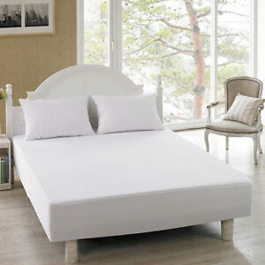 Extra deep 12 30cm terry toweling waterproof mattress for Furniture 30cm deep