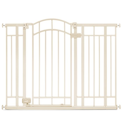 Adjustable Metal Pet Child Safety Extra Tall Gate Walk thru