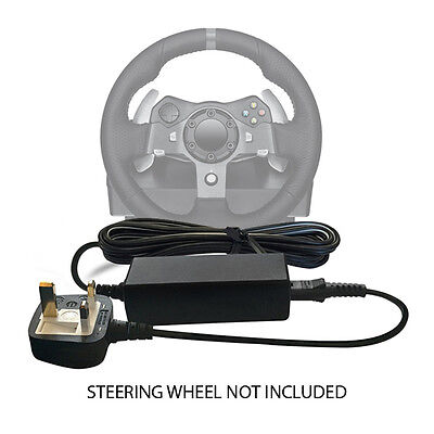 DC 24V ADAPTER CABLE WALL PLUG POWER SUPPLY FOR STEERING WHEEL Xbox 360, One 1