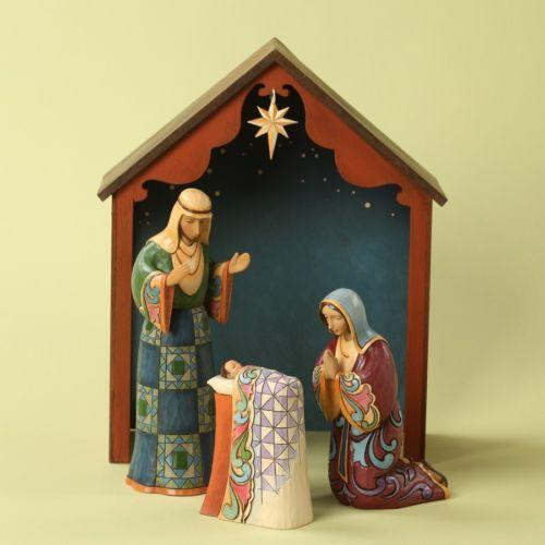 Jim Shore Heartwood Creek Nativity Ebay