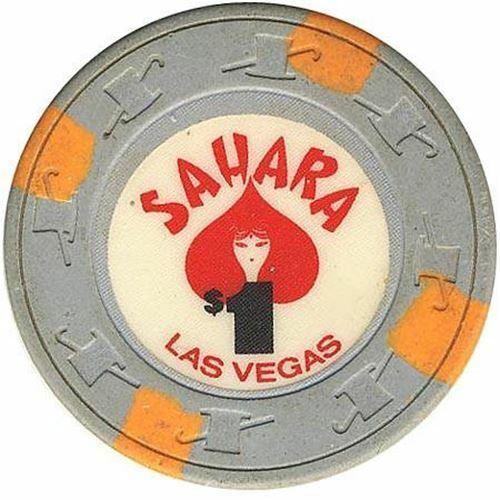 Sahara Casino Las Vegas NV $1 Chip with Face 1983