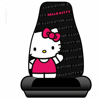 Licensed Sanrio Hello Kitty Bucket Seat Cover Universal Interior Front Car Truck
