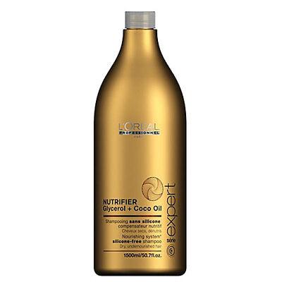 L'oreal Professionnel Serie Expert Nutrifier Shampoo 1500ml Salon Size