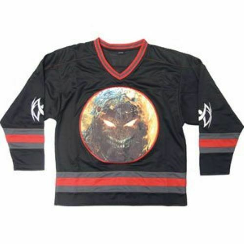 Disturbed Hockey Jersey (embroidered) Size: XL