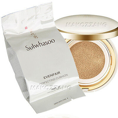 Sulwhasoo Perfecting Cushion EX Refill Makeup Foundation Amore Pacific Upgraded