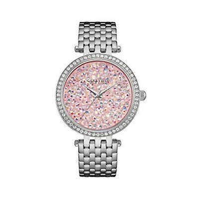 Caravelle New York Women's 43L194 Swarovski Crystal Stainless Steel Watch