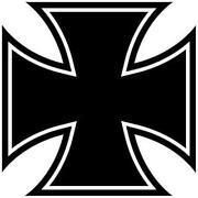 Cross Aufkleber