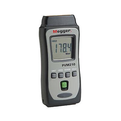 Megger Pvm210 1002-548 Handheld Irradiance Meter 1999 Wm2 Range