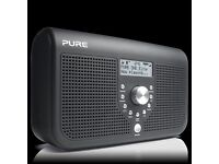 New! Pure One Elite Series 2 Black Stereo DAB Digital & FM Radio Inc Listen Later - RRP: £69.99