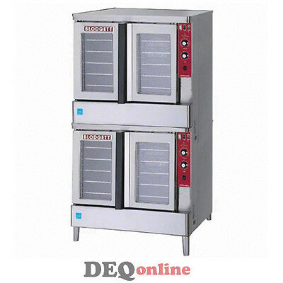 Blodgett Zephaire-100-g-es Double Gas Convection Oven Energy Star