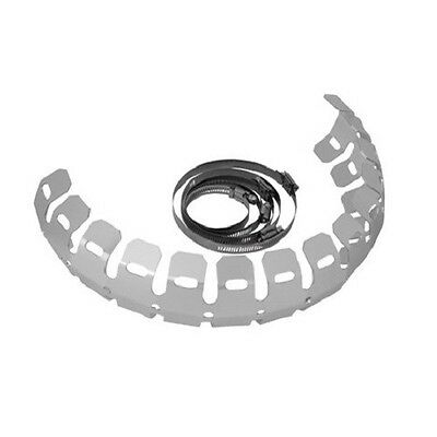 Tusk Racing 2 Stroke Universal Light Pipe Exhaust Protector Guard NEW