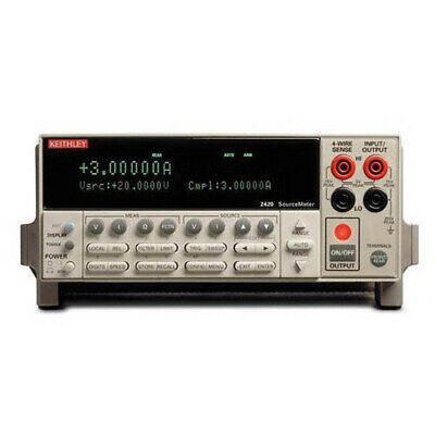Keithley 2420-us Us Gov Ed Sourcemeter Smu Wgpib Rs-232 3a