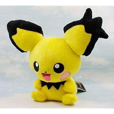 Pichu Pikachu Pokemon Anime Animal Stuffed Plush Plushies Doll Toys - Animal Plushies