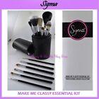 Sigma Beauty Black Regular Size Makeup Brushes