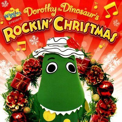 THE WIGGLES Dorothy The Dinosaur's Rockin' Christmas CD BRAND NEW Caddy
