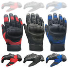 Leather Winter Motorcycle Gloves