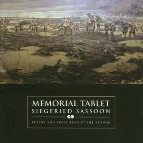 Siegfried Sassoon - Memorial Tablet [New CD]