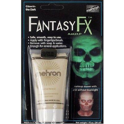 Glow in the Dark Black Light Mehron Fantasy FX Face Paint Body Blacklight Makeup - Glow In The Dark Body