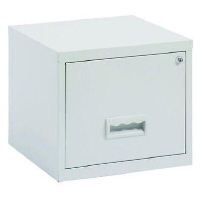 Pierre Henry Maxi desktop single drawer A4 filing cabinet - grey
