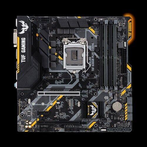 ASUS TUF B365M-PLUS GAMING Intel B365 1151 LGA MicroATX Desktop Motherboard B