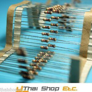 100-x-Carbon-Film-Resistors-220-Ohm-220R-1-4W-5