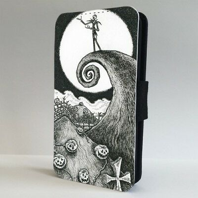 Nightmare Before Christmas Spooky Sky FLIP PHONE CASE COVER for IPHONE SAMSUNG - Spooky Sky