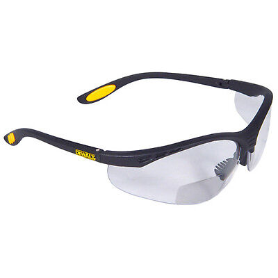 Dewalt Dpg59-115 Reinforcer Rx Safety Glasses Clear Ansi Z87.1 Bifocal 1.5