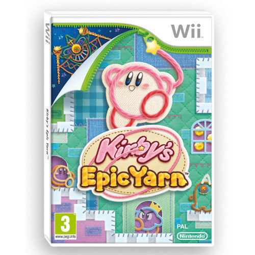 Kirby's Epic Yarn for Wii