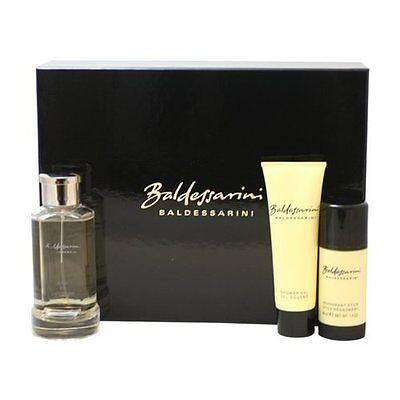 HUGO BOSS Baldessarini 2.5 oz 75 ml edc 40ml Deod Stick 50ml ShowerGel Gift (40ml Stick)