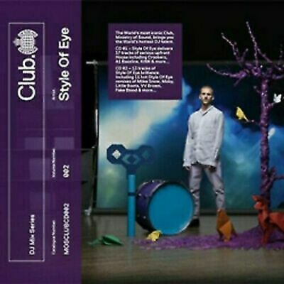 Ministry of Sound: Club Presents Style of Eye MOS CLUBCD002 NEW