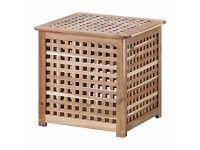 2 x IKEA HOL - Side Table or Laundry Basket / Storage / Blanket Box