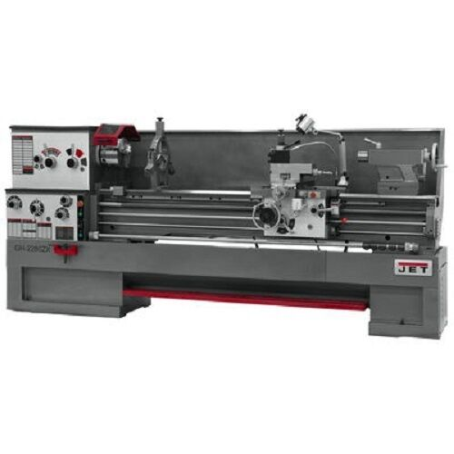 Brand New Jet Lathe Gh-2280zx W/dp700 Dro, Tak & Collet Clsr #321579