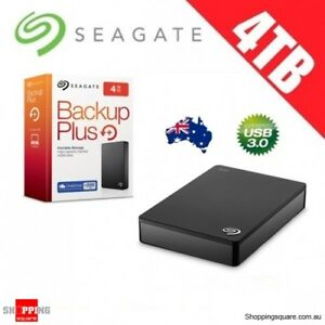 Seagate Backup Plus 4TB External HDD