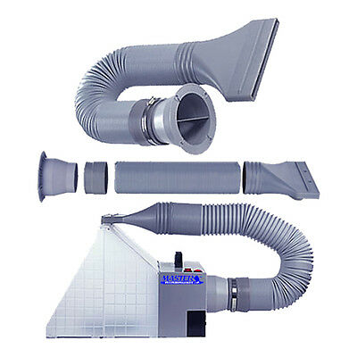 5' EXHAUST EXTENSION HOSE Paint Oder Extractor Master Airbrush Hobby Spray Booth
