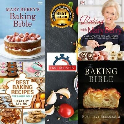 Mary Berry's Baking Bible ⚡collection 🔥Over 250 Classic Recipes  ✅4 P.D.F Book✅