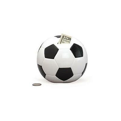 Soccer Shape Piggy Bank For Saving Money And Sports Decor [Toy]